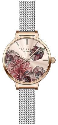 Ted Baker NR  Ladies Silver 'Kate' Analogue Bracelet Watch Te50070001