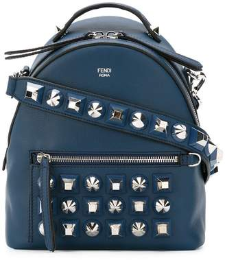 Fendi stud embellished shoulder bag