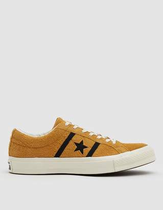Converse Academy Ox One Star Sneaker in Amber Ochre