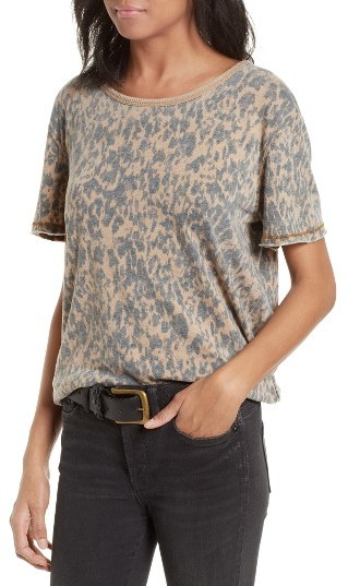 Women's Free People Army Tee 2