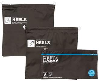 Flight 001 Go Clean Heels Drawstring Bag