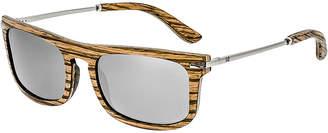 Earth Wood Men's Queensland 42Mm Polarized Sunglasses