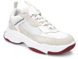 Calvin Klein Jeans Logo Platform Sneakers