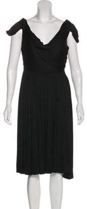 Bottega Veneta Silk Pleated Dress
