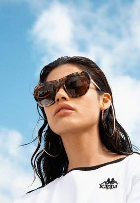 Missguided Quay Australia Black Common Love Sunglasses
