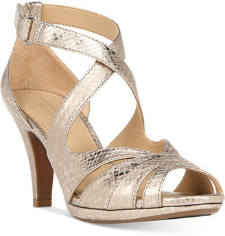 Naturalizer Imperial Dress Sandals $89 thestylecure.com