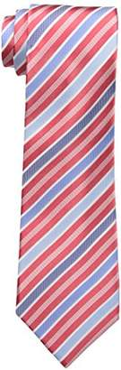Countess Mara Men's Lockport Stripe 100% Silk Tie