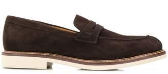 Corneliani suede loafers