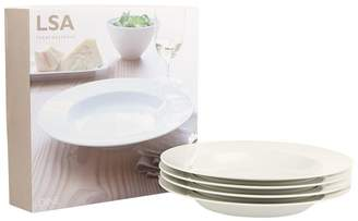 LSA International Pasta Plate Set (Set of 4)