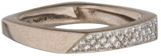 Tiffany & Co. 18K Diamond Frank Gehry Torque Ring $1,195 thestylecure.com