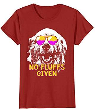Great Pyrenees No Fluffs Funny Shirt