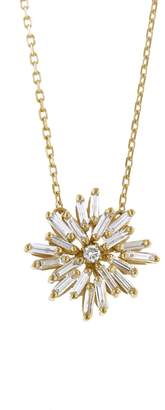 Suzanne Kalan Round Firework Necklace - Yellow Gold