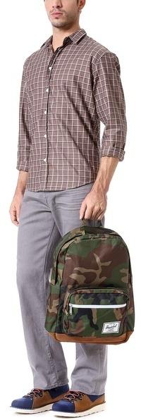 Herschel Pop Quiz Backpack with Suede Bottom