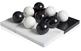 Jonathan Adler Canaan Marble Tic-Tac-Toe Set