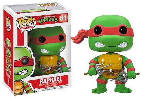 Teenage Mutant Ninja Turtles Raphael Pop Vinyl Figure