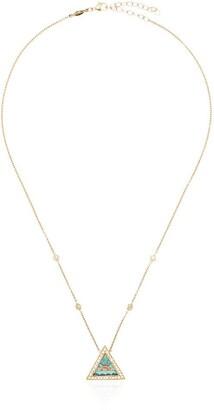 Jacquie Aiche hanging pendant necklace