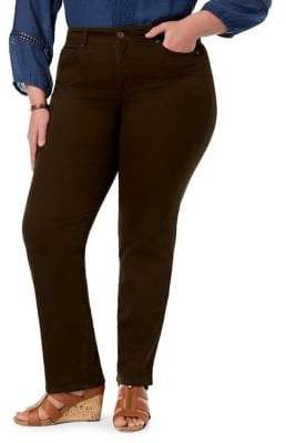 Style&Co. Style & Co. Plus Rail Tummy Straight Jeans