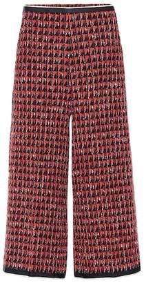 Gucci Tweed wide-leg pants