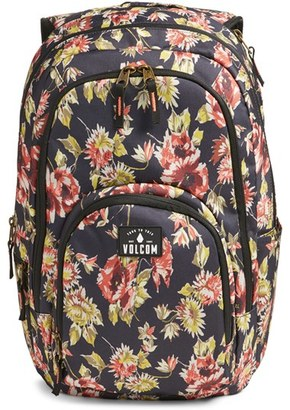 Volcom 'Top Notch' Floral Print Backpack $65 thestylecure.com
