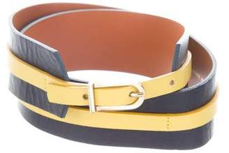 MAISON BOINET Leather Waist Belt