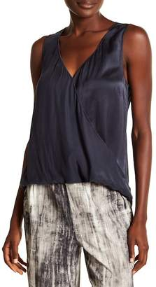 Go Silk go \u003E by GoSilk Go Surplus Silk Stretch Sleeveless Blouse
