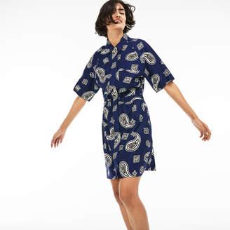 Lacoste Women's LIVE Canvas Shirt Dress