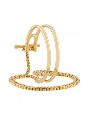 Eddie Borgo cuff multi-bracelet $375 thestylecure.com