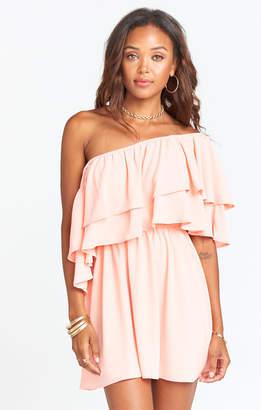 Show Me Your Mumu Holly Dress ~ Peach Pebble