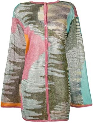 Missoni Aztec print cardigan