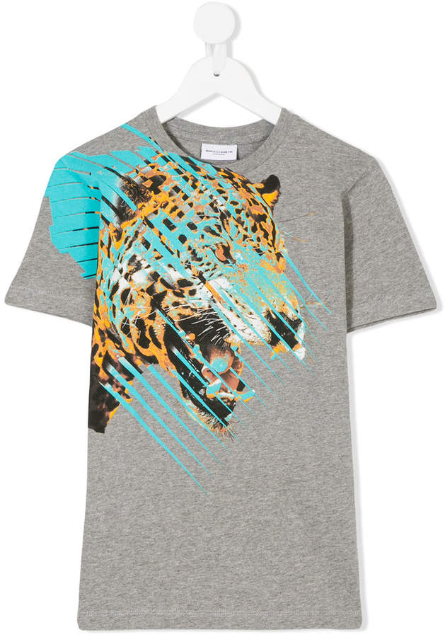 Marcelo Burlon County Of Milan Kids tiger print T-shirt