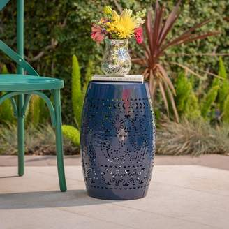 Bungalow Rose Ifrane Iron Side Table