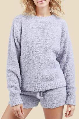 POL Berber Fleece Pullover Crewneck