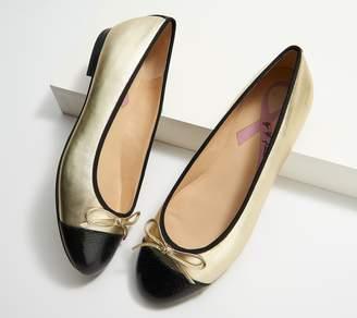 Marc Fisher Leather Ballet Flats - Jodi