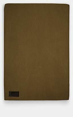 MAGNIBERG Cotton Jersey Queen Duvet Cover - Dk. Green