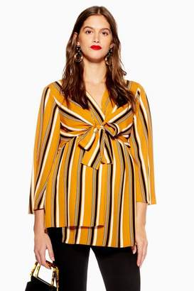 Topshop **Maternity Nursing Stripe Blouse