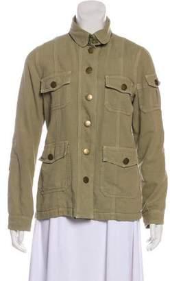 Current/Elliott Embellished Military Jacket