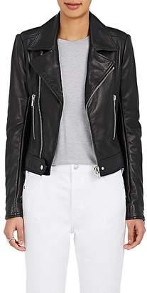 "Balenciaga Women's ""New"" Classic Moto Leather Jacket"