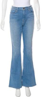 Frame High-Rise Flared Jeans