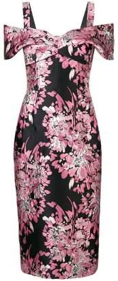 Dolce & Gabbana floral off-the-shoulder dress