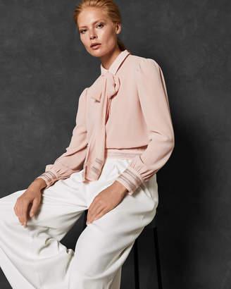 Ted Baker DAARCIE Stripe detail blouse