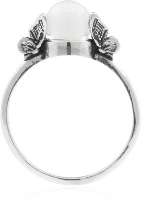 Lee Renee Butterfly Quartz Ring - Silver