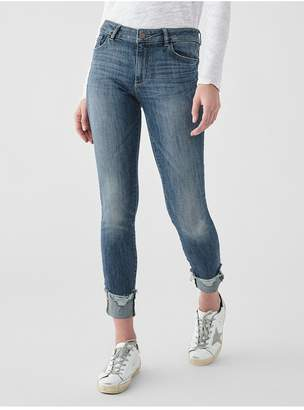 DL1961 Florence Ankle Mid Rise Skinny | Moore
