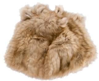 Knit Fox Fur Hat