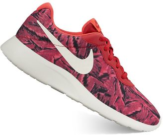 Nike Tanjun Women's Camo Print Athletic Shoes $70 thestylecure.com
