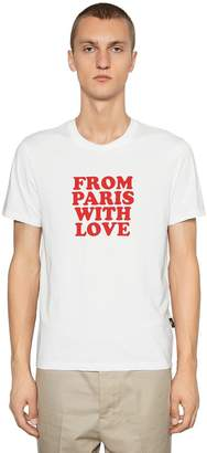 Ami Alexandre Mattiussi From Paris With Love Jersey T-Shirt