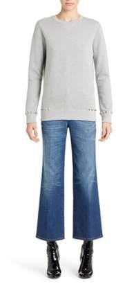 Valentino (ヴァレンティノ) - Valentino Studded Crewneck Sweatshirt