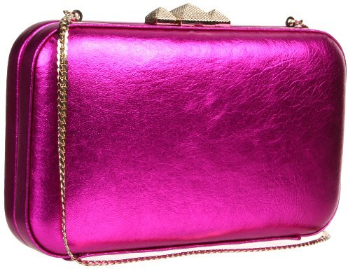 Rebecca Minkoff Vincent Minaudier Metallic W/ Light Gold Hardware 10NIMLCHO2 Clutch