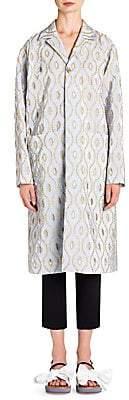 Marni Women's Taffeta Eyelet Coat