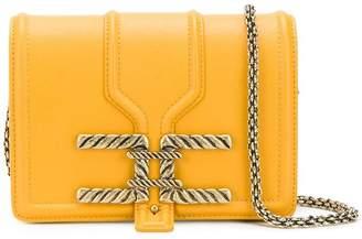 Elisabetta Franchi square shaped crossbody bag