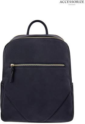 Accessorize Womens Blue Judy Backpack - Blue